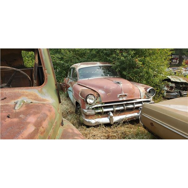 1953 Chevy Belair - parts, 4dr