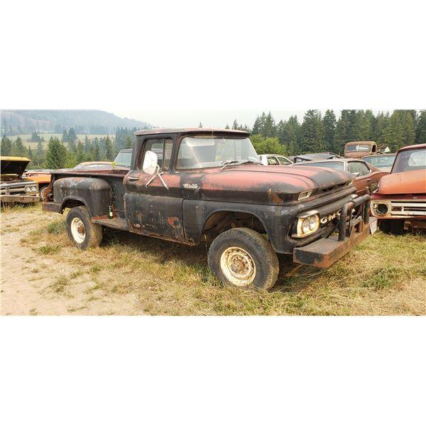 1961 Chevy 1 ton - 4x4, rare