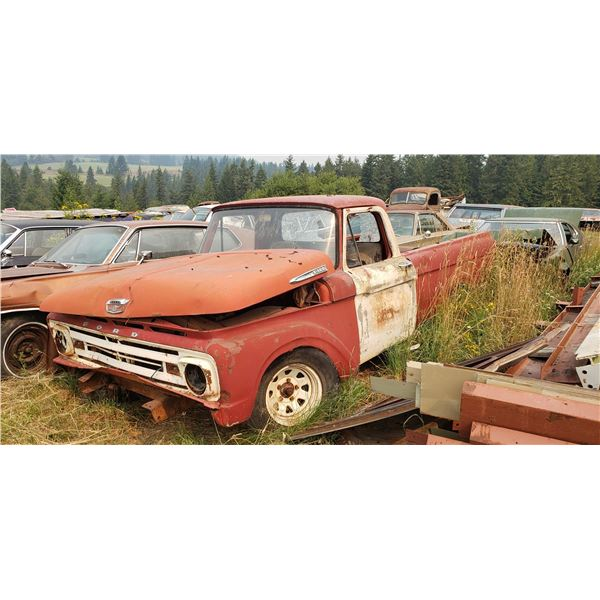 1961 Ford Unibody truck - parts or restore