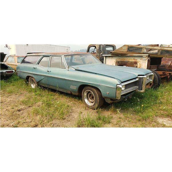 1968 Pontiac Laurentian Safari Wagon - original 396, runs, complete