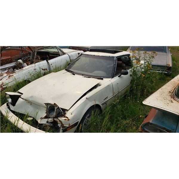80s Mazda RX7 - parts