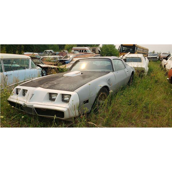 2nd Gen Pontiac Trans Am - parts car
