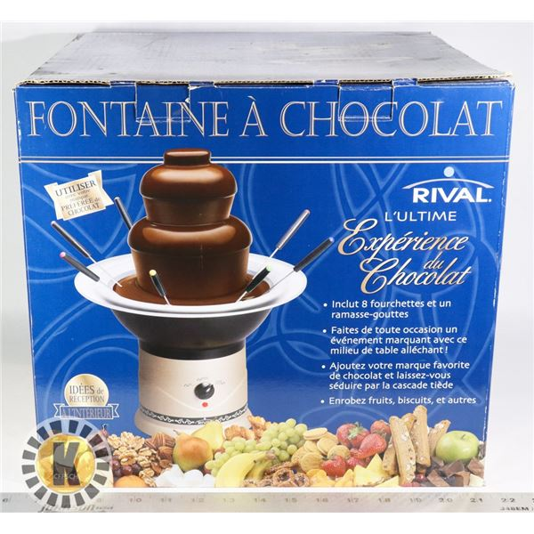 RIVAL THE ULTIMATE CHOCOLATE EXPERIENCE MACHINE