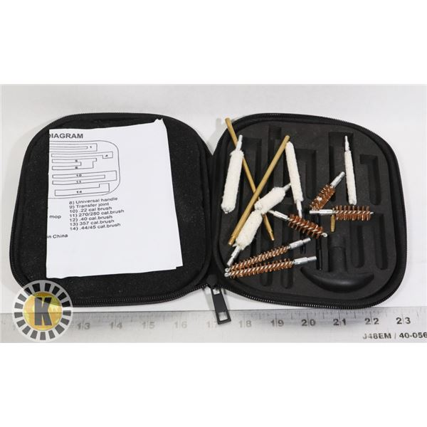 GUN AND RIFLE CLEANING KIT