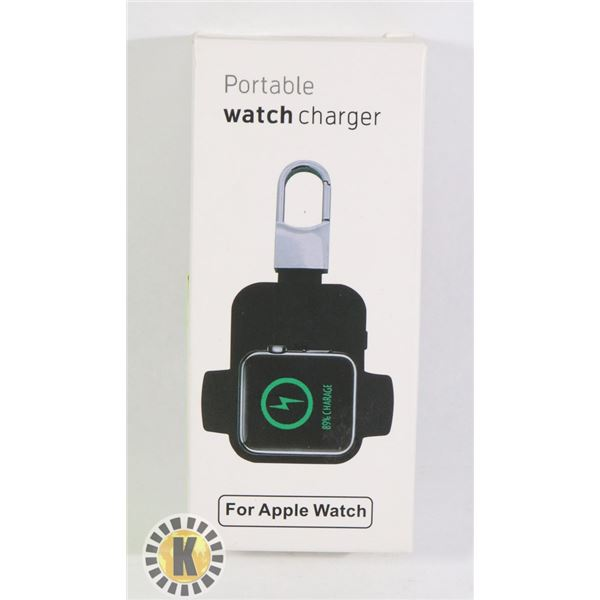 APPLE WATCH PORTABLE CHARGER (RECHARGEABLE)