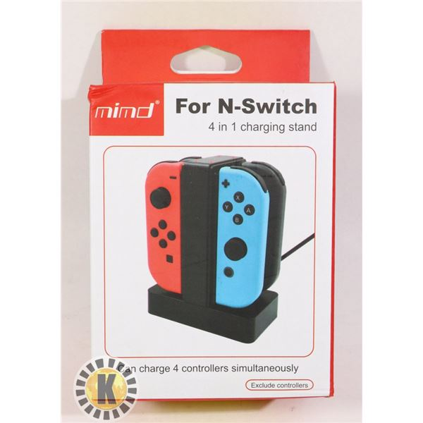 FOUR IN ONE CHARGING STAND NINTENDO SWITCH