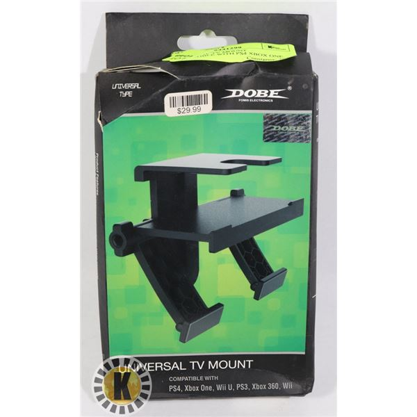 UNIVERSAL TV MOUNT COMPATIBLE WITH PS4 XBOX ONE