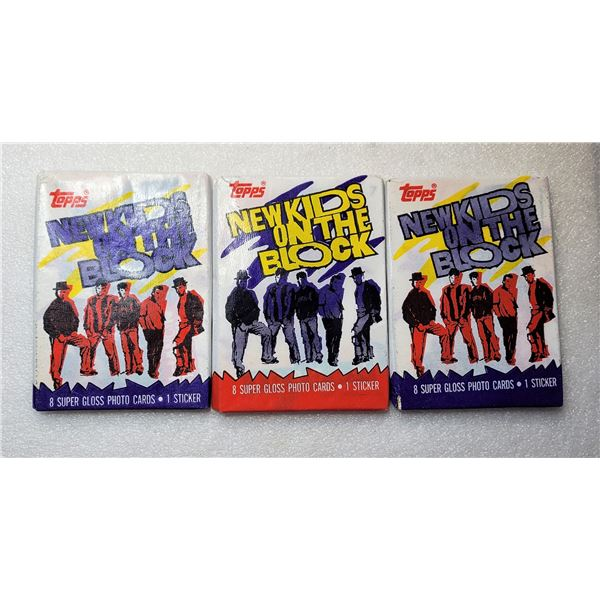 8)  LOT OF 3 FACTORY SEALED PACKAGES OF 8 PHOTO