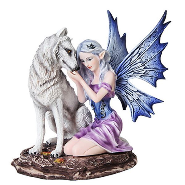 FAIRY WITH WOLF