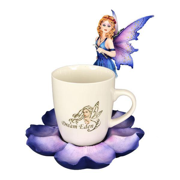 PURPLE TEA CUP FAIRY
