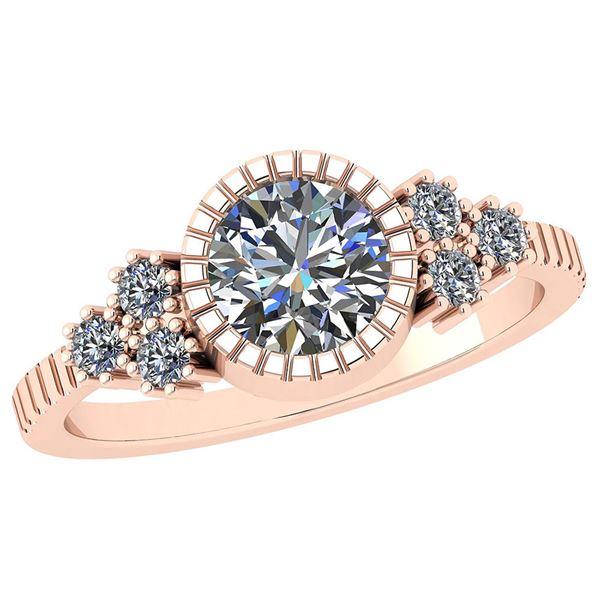 Certified 1.05 Ctw Diamond I1/I2 Vintage Style Wedding