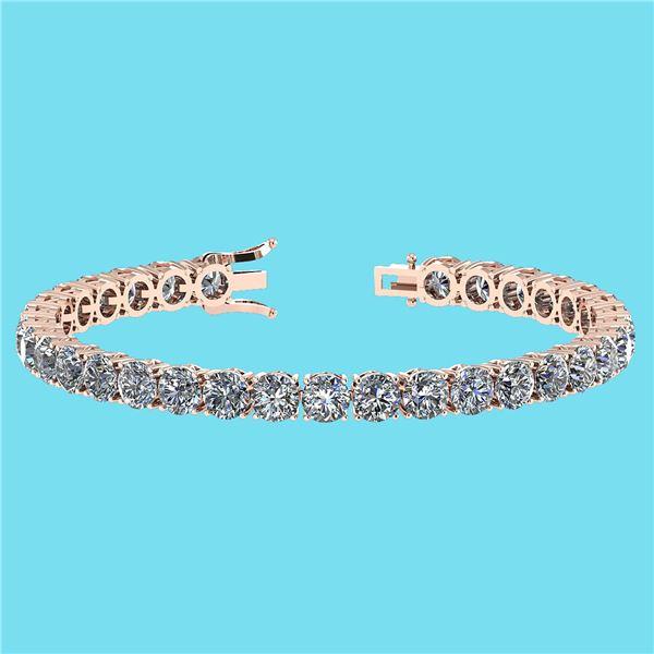 Certified 14.85 Ctw SI1/I2 Diamond Ladies Fashion 18K R