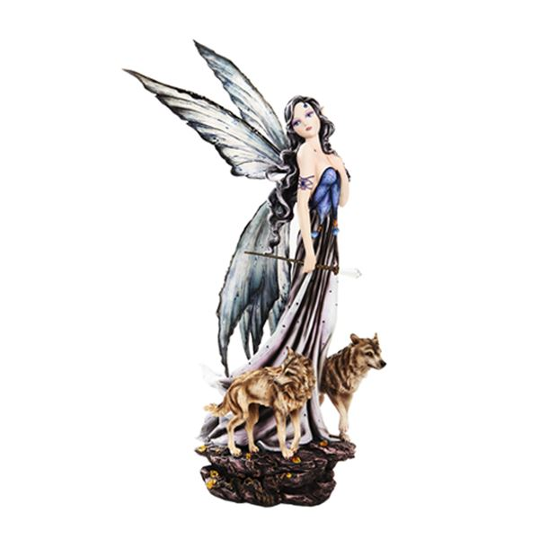 FAIRY WITH WOLVES LG