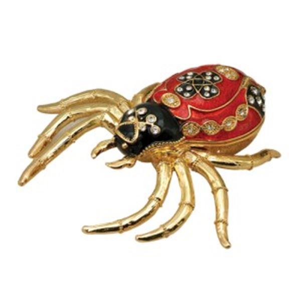 RED SPIDER JEWELRY BOX