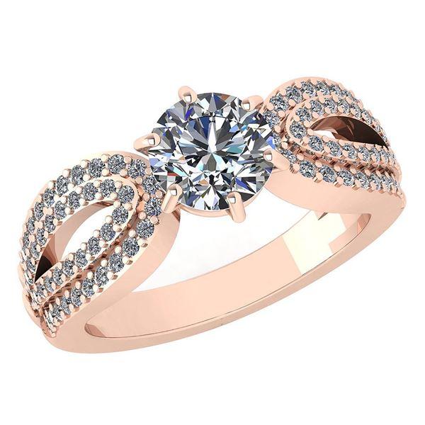 Certified 1.82 Ctw Diamond Engagement /Wedding 14K Whit