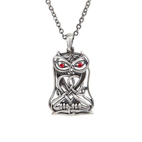 CELTIC OWL NECKLACE