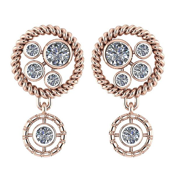 Certified 1.40 Ctw Diamond Earrings from the New Expres