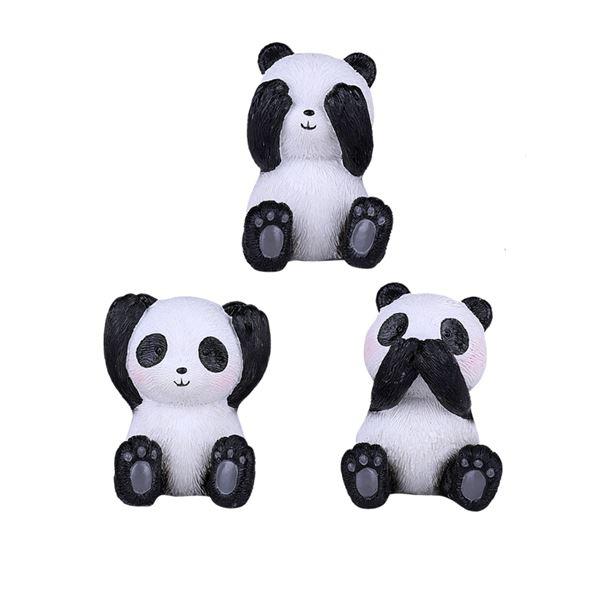PANDA SEE HEAR SPEAK NO EVIL