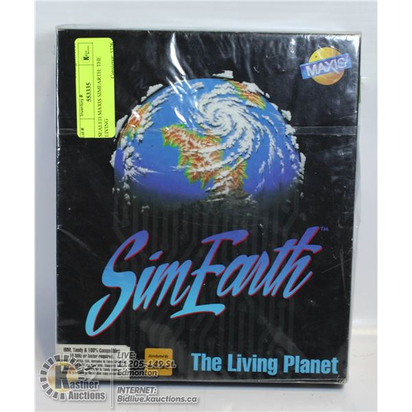 SEALED MAXIS SIMEARTH: THE LIVING
