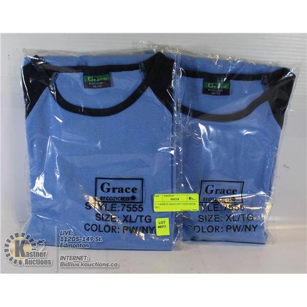 2 - T-SHIRTS GRACE BY COZYCREEK (XL)