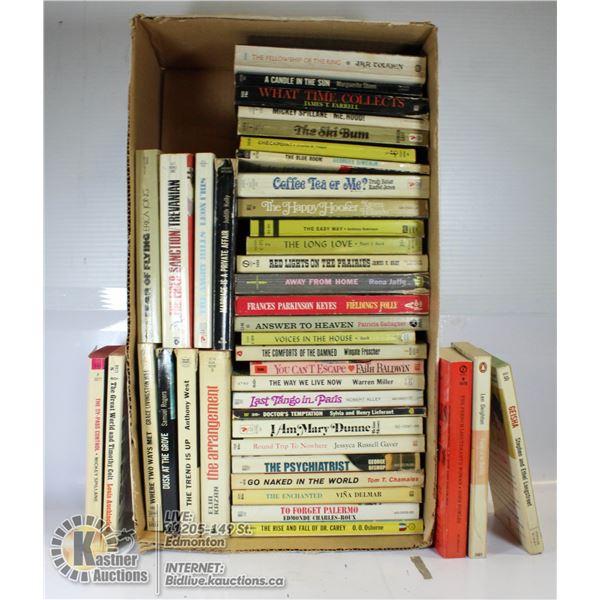 ROMANCE PAPERBACK BOOKS- LOT OF 33