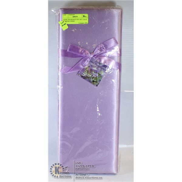 HOME FRAGRANCE GIFT SET- LILAC DRAWER LINERS/