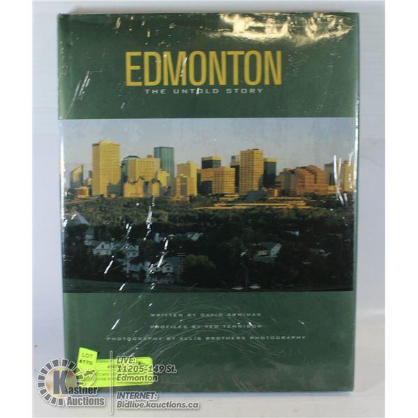 """EDMONTON'S UNTOLD STORY"" HARDCOVER BOOK"
