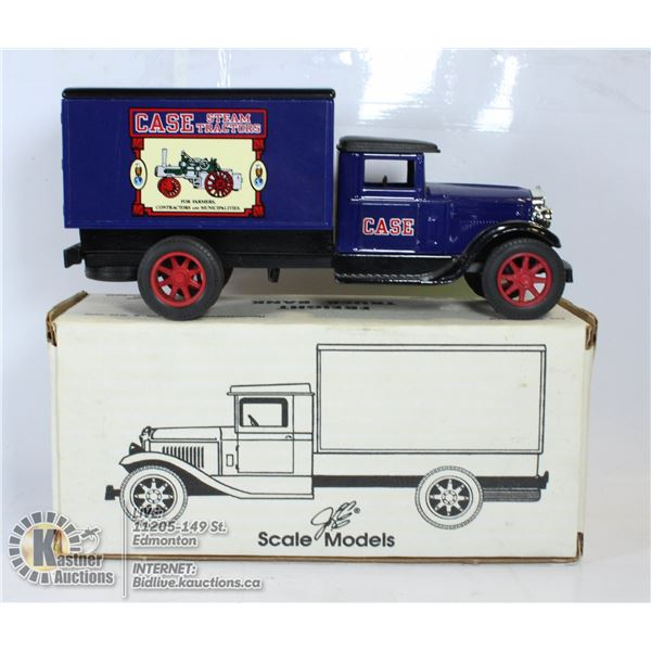 DIECAST METAL BANK- SCALE MODELS FREIGHT TRUCK