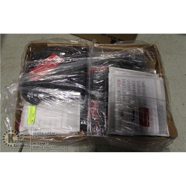 BOX OF BRAND NEW PACKAGED REISENTHEL BAGS AND