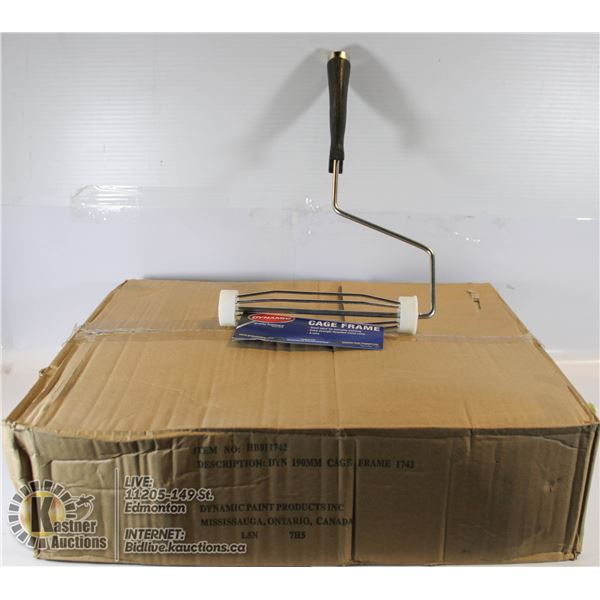 BOX OF DYNAMIC PAINTER ROLLER CAGE WITH HANDLES
