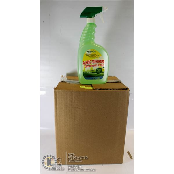 CASE LOT OF CLEANEZE FABRIC REFRESHER