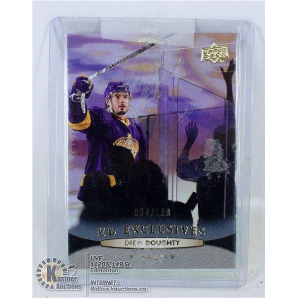 DREW DOUGHTY  HOCKEY CARD LA KINGS 4/100