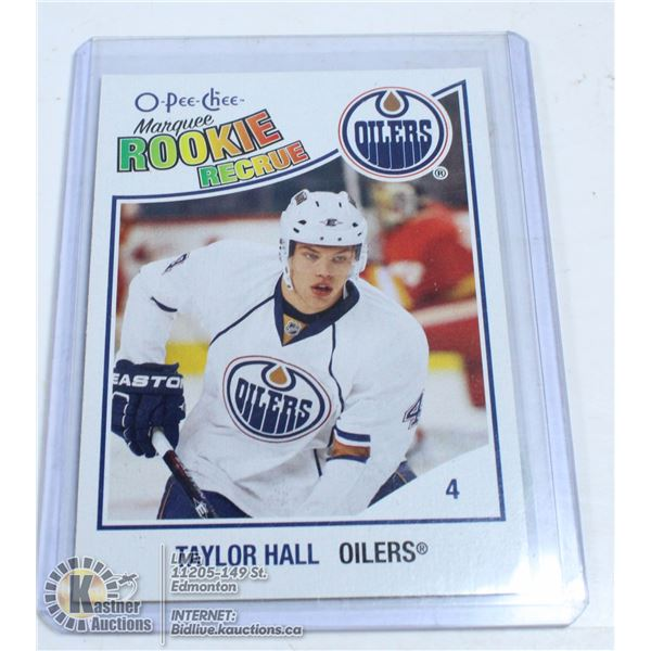 2010-11 OPV TAYLOR HALL MARQUEE ROOKIE