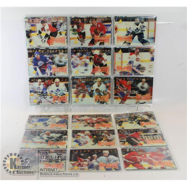 1996 COMPLETE MCDONALDS NHL CARD SET 1-41