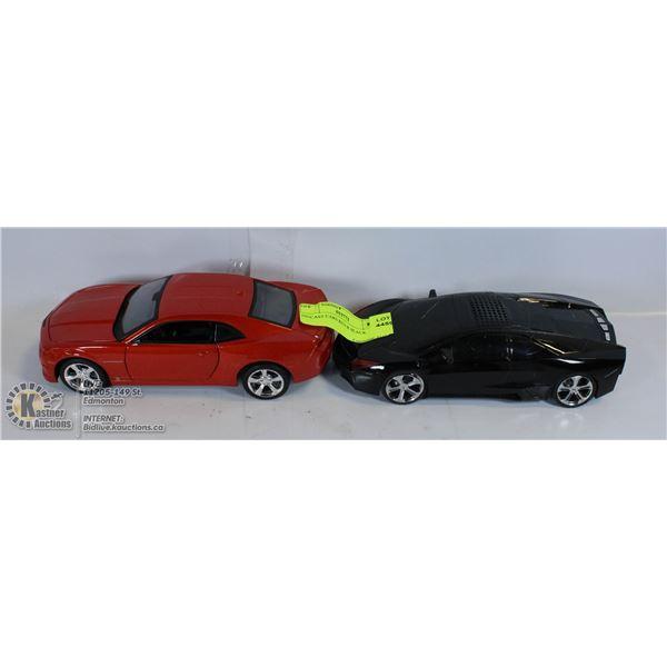 DIECAST CARS RED & BLACK