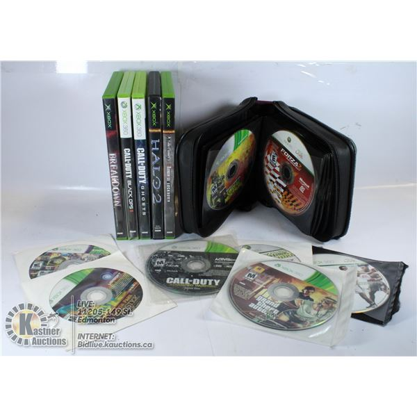 LARGE LOT OF XBOX / XBOX 360 GAMES