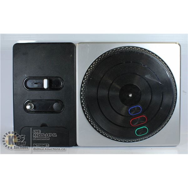 PLAYSTATION DJ HERO CONTROLLER