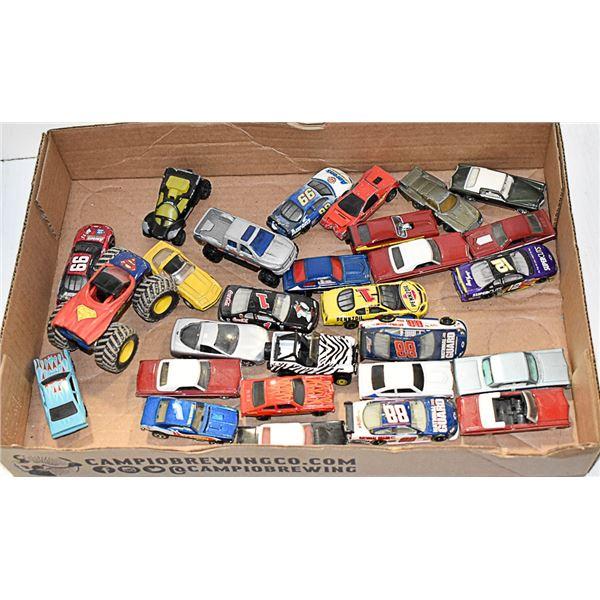 LOT OF 25+ NASCAR HOTWHEELS