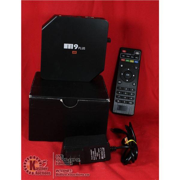OTT BOX AMLOGIC S905 4K ANDROID TV BOX