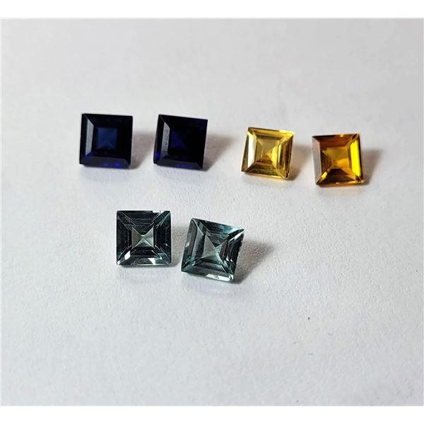 21)  LOT OF 3 SETS OF 2 MATCHED  SQUARE