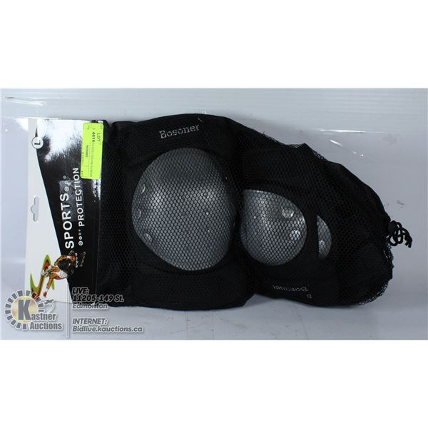 SPORTS PROTECTION PADS LARGE