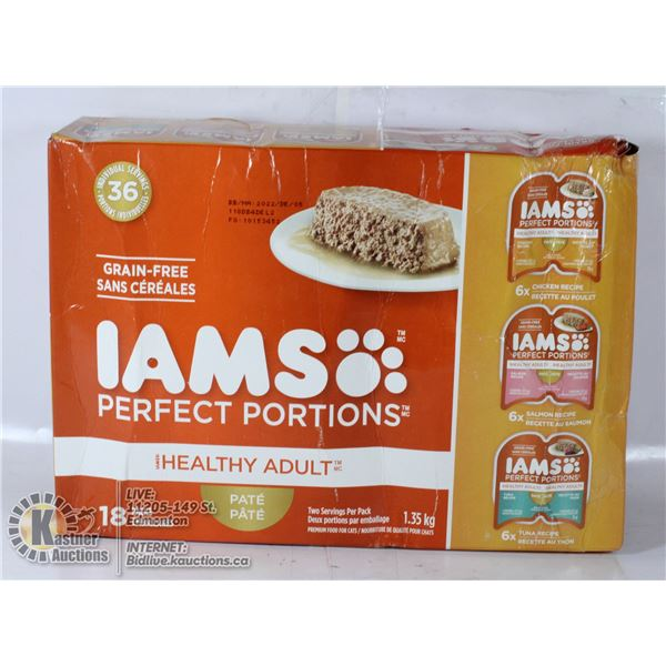 IAMS PERFECT PORTIONS ADULT CAT PATE