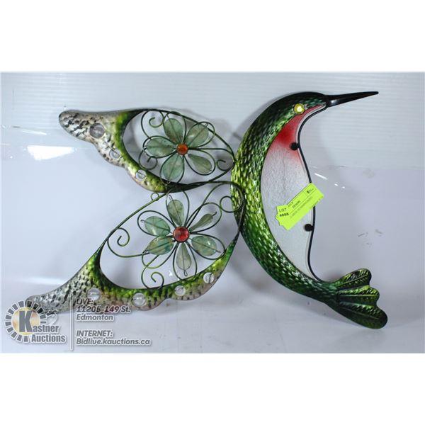 METAL LARGE HUMMINGBIRD