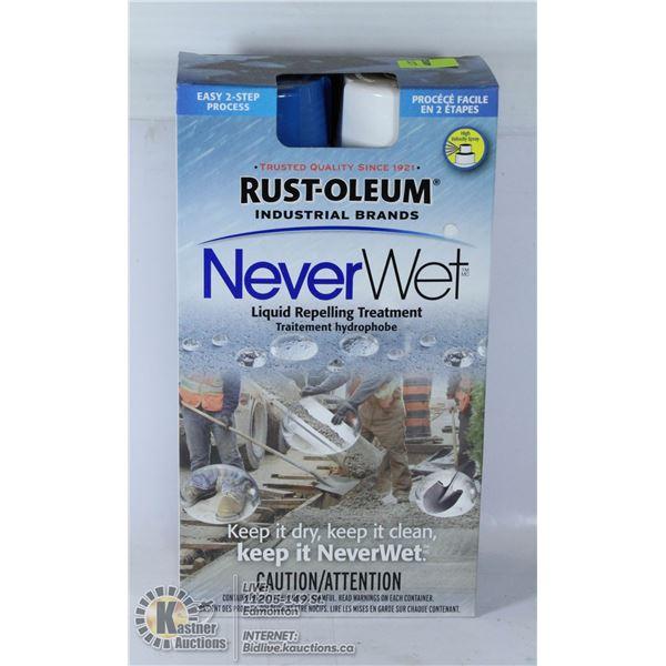 RUST-OLEUM NEVERWET LIQUID REPELLING TREATMENT