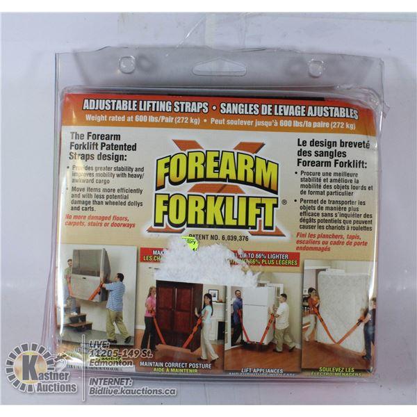 """NEW """"FOREARM FORKLIFT"""" ADJUSTABLE FURNITURE"""