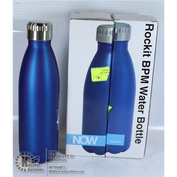 BPA FREE STAINLESS WATER BOTTLE SET NEW IN BOXES