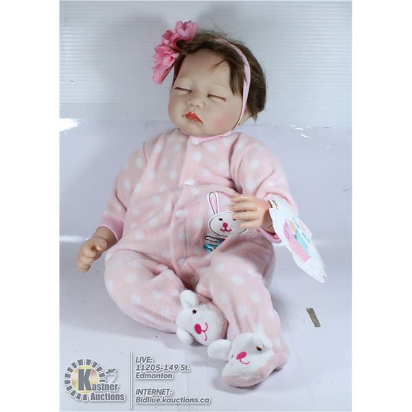 NPK COLLECTION REBORN BABY DOLL REALISTIC