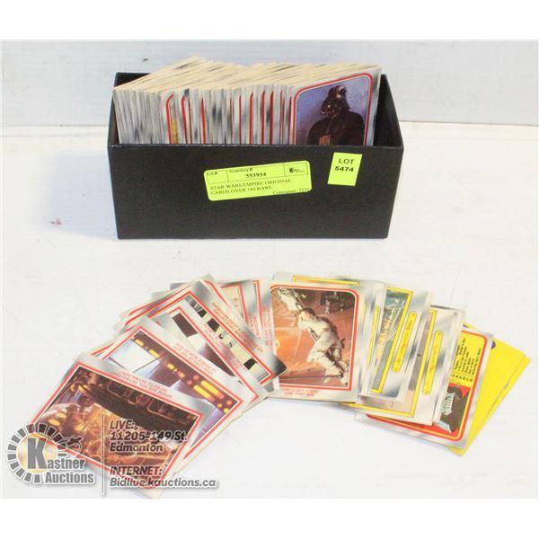 STAR WARS EMPIRE ORIGINAL CARDS OVER 140 RARE.