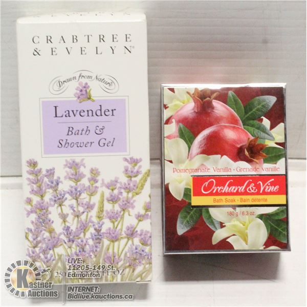 BATH & BODY PRODUCTS- CRABTREE & EVELYN-