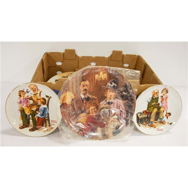 COLLECTOR PLATES- LIMITED EDITIONS- ASSORTED LOT